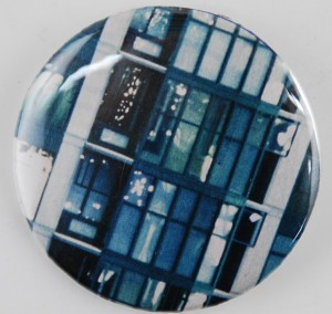 advertisement pinback button