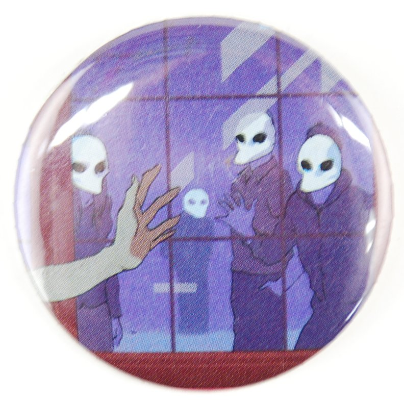 spooky button, random button, comic button
