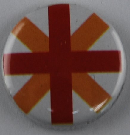 design button, pin-back button