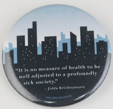 pin-back quote button