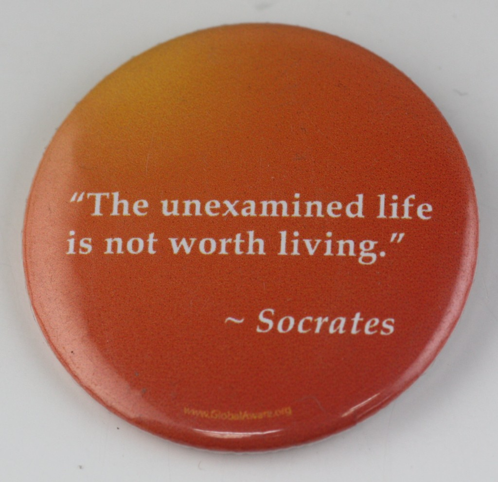 socrates button, quotes button, philosophy button