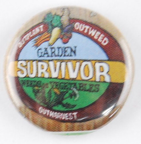 garden survivor button