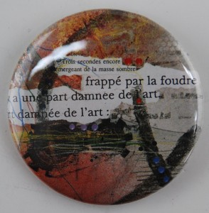 french pin, french pinback button