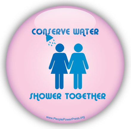 environmental button , water conservation button, conserve water button